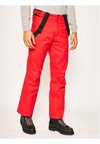 Czerwone spodnie sportowe Rossignol narciarskie