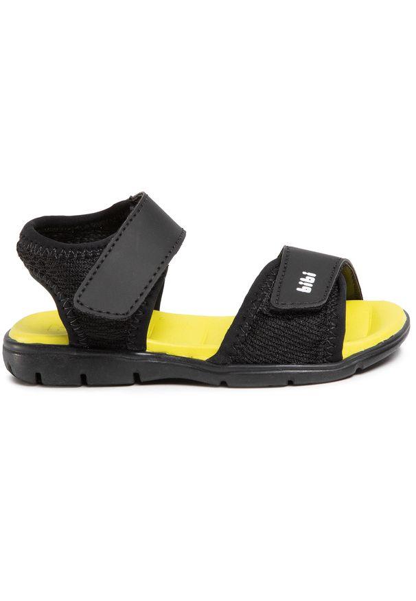 Czarne sandały Bibi na lato