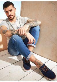 Sneakersy s.Oliver bonprix ciemnoniebieski. Kolor: niebieski