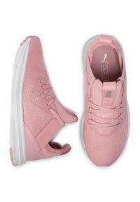 Różowe buty do biegania Puma z cholewką