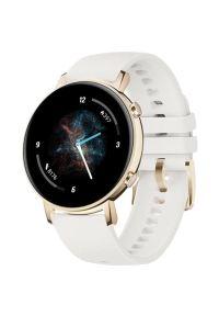 Biały zegarek HUAWEI elegancki, smartwatch