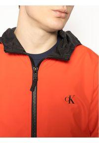 Czerwona kurtka przejściowa Calvin Klein Jeans
