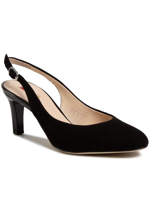 Czarne sandały HÖGL eleganckie