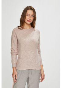 Vero Moda - Sweter. Okazja: na co dzień. Kolor: różowy. Długość rękawa: raglanowy rękaw. Styl: casual