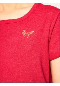 Różowy t-shirt Roxy
