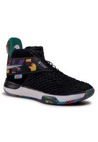 Czarne buty do koszykówki Nike z cholewką, na co dzień