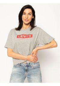 Levi's® T-Shirt Graphic Boxy Tee 85634-0007 Szary Regular Fit. Kolor: szary