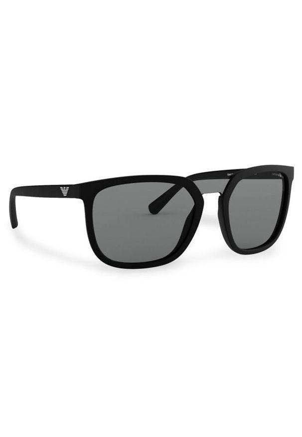 Czarne okulary przeciwsłoneczne Emporio Armani