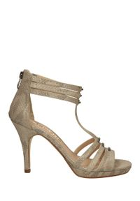 Tamaris - Sandały tamaris 1-28387-34. Kolor: beżowy