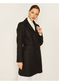 Czarny płaszcz przejściowy Liu Jo