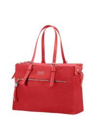 Czerwona torba na laptopa Samsonite