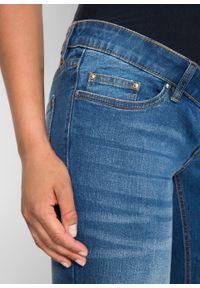 """Dżinsy ciążowe BOOTCUT bonprix niebieski """"stone"""". Kolekcja: moda ciążowa. Kolor: niebieski #2"""