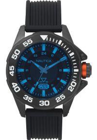 Czarny zegarek Nautica