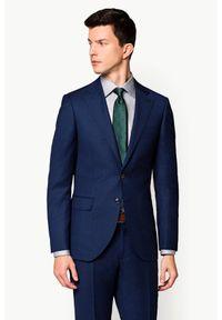 Niebieski garnitur Lancerto gładki