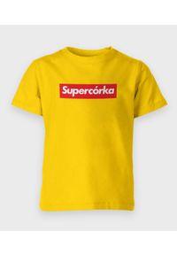 MegaKoszulki - Koszulka dziecięca Supercórka. Materiał: bawełna