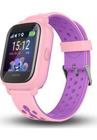 Smartwatch CALMEAN Nemo2 Różowy. Rodzaj zegarka: smartwatch. Kolor: różowy