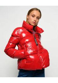 Czerwona kurtka Pinko na zimę