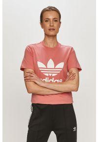 Bluzka adidas Originals na co dzień, z nadrukiem