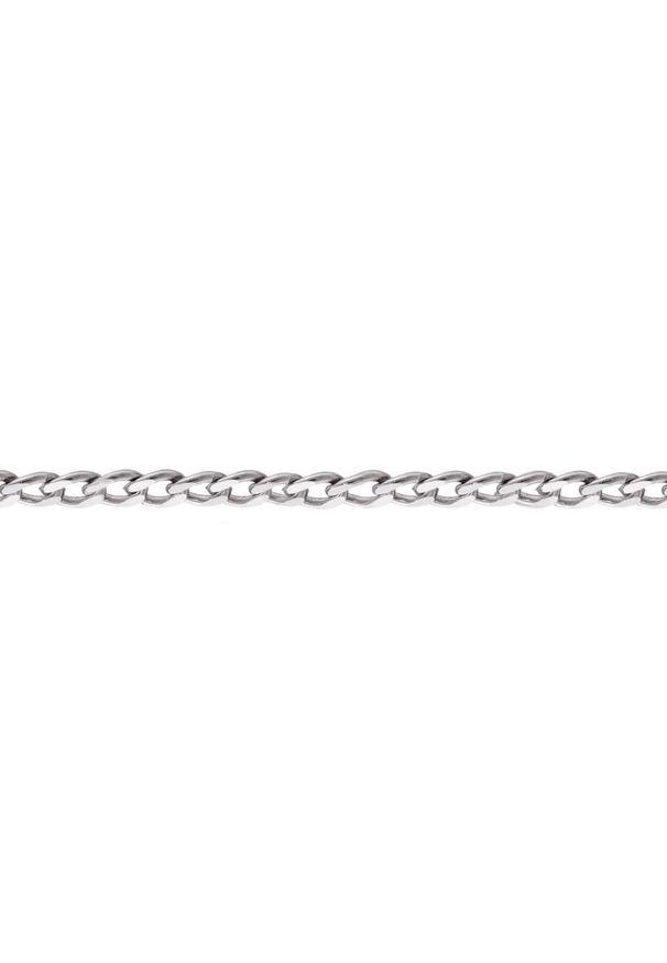 W.KRUK Łańcuszek Srebrny - srebro 925 - SCR/LS015. Materiał: srebrne. Kolor: srebrny. Wzór: ze splotem