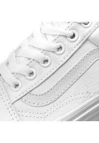 Białe buty sportowe z cholewką, Vans Old Skool