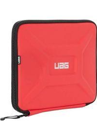 Czerwone etui na laptopa UAG