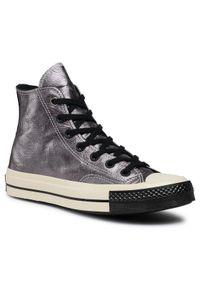 Srebrne trampki Converse