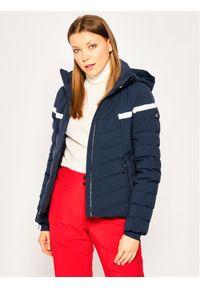 Niebieska kurtka sportowa Eider narciarska