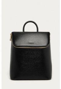 DKNY - Dkny - Plecak skórzany. Kolor: czarny. Materiał: skóra