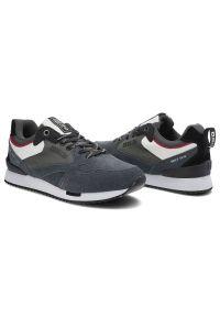 Big-Star - Sneakersy BIG STAR II174192 Szary. Okazja: do pracy, na co dzień, na spacer. Kolor: szary. Materiał: jeans, zamsz, skóra, materiał. Szerokość cholewki: normalna. Sport: turystyka piesza