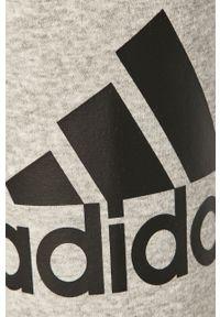 Szare spodnie dresowe adidas Performance z nadrukiem #4
