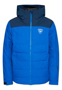 Rossignol Kurtka narciarska Rapide RLIMJ16 Granatowy Classic Fit. Kolor: niebieski. Sport: narciarstwo
