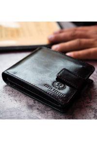 Czarny portfel PAOLO PERUZZI