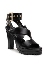 Czarne sandały AllSaints