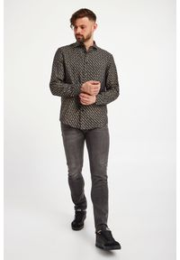 Versace Jeans Couture - KOSZULA VERSACE JEANS COUTURE. Okazja: na co dzień. Styl: elegancki, casual
