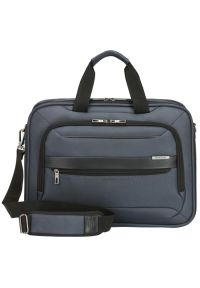 Niebieska torba na laptopa Samsonite elegancka