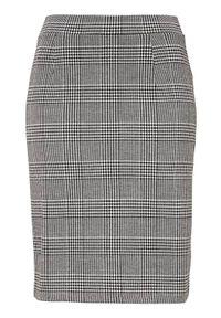 Cellbes Spódnica Czarny biały female czarny/biały 54/56. Kolor: czarny, biały, wielokolorowy. Materiał: jersey, żakard, guma