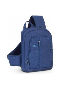 Niebieski plecak na laptopa RIVACASE elegancki