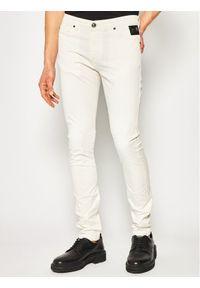 Białe jeansy Cavalli Class