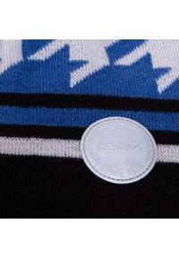 Reima - Czapka REIMA - Kohva 528665 6321. Kolor: niebieski. Materiał: wełna, akryl, materiał