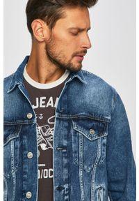 Niebieska kurtka Pepe Jeans casualowa, na co dzień