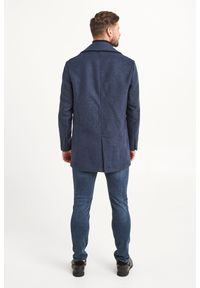 Trussardi Jeans - PŁASZCZ TRUSSARDI JEANS. Sezon: zima