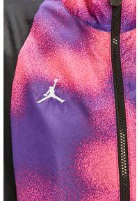 Fioletowa kurtka Jordan raglanowy rękaw
