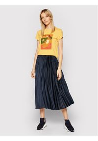 Żółty t-shirt Marella
