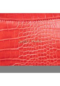 Czerwona torebka klasyczna Jenny Fairy skórzana, klasyczna