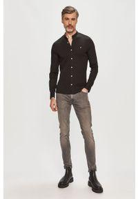 Czarna koszula Calvin Klein długa, z długim rękawem
