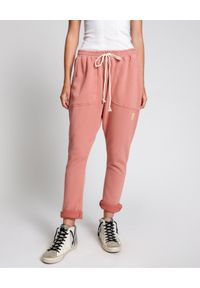 ONETEASPOON - Spodnie dresowe Wornk Pink. Kolor: wielokolorowy, różowy, fioletowy. Materiał: dresówka. Wzór: nadruk