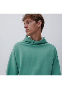 Reserved - Bluza z kapturem - Turkusowy. Typ kołnierza: kaptur. Kolor: turkusowy