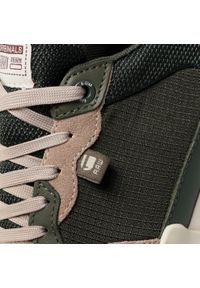 Zielone buty sportowe G-Star RAW z cholewką, na średnim obcasie