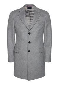 Szary płaszcz przejściowy TOMMY HILFIGER #7