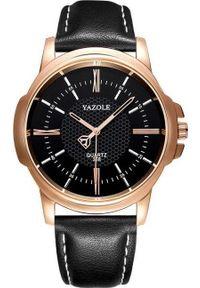 Czarny zegarek KEMER